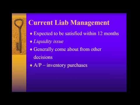 Controllership Chat 5 Liabilities & Equity