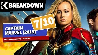 Breakdown: Captain Marvel (2019) Brie Larson, Samuel L Jackson, Jude Law