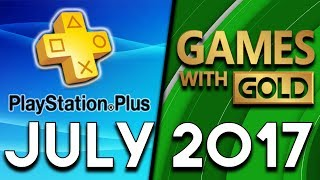 Playstation Plus Vs Xbox Games With Gold  July 2017