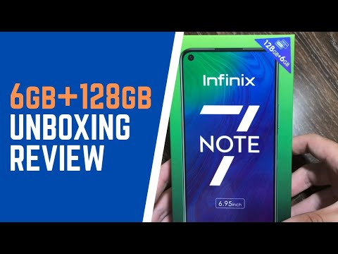 Infinix note 7 unboxing and review