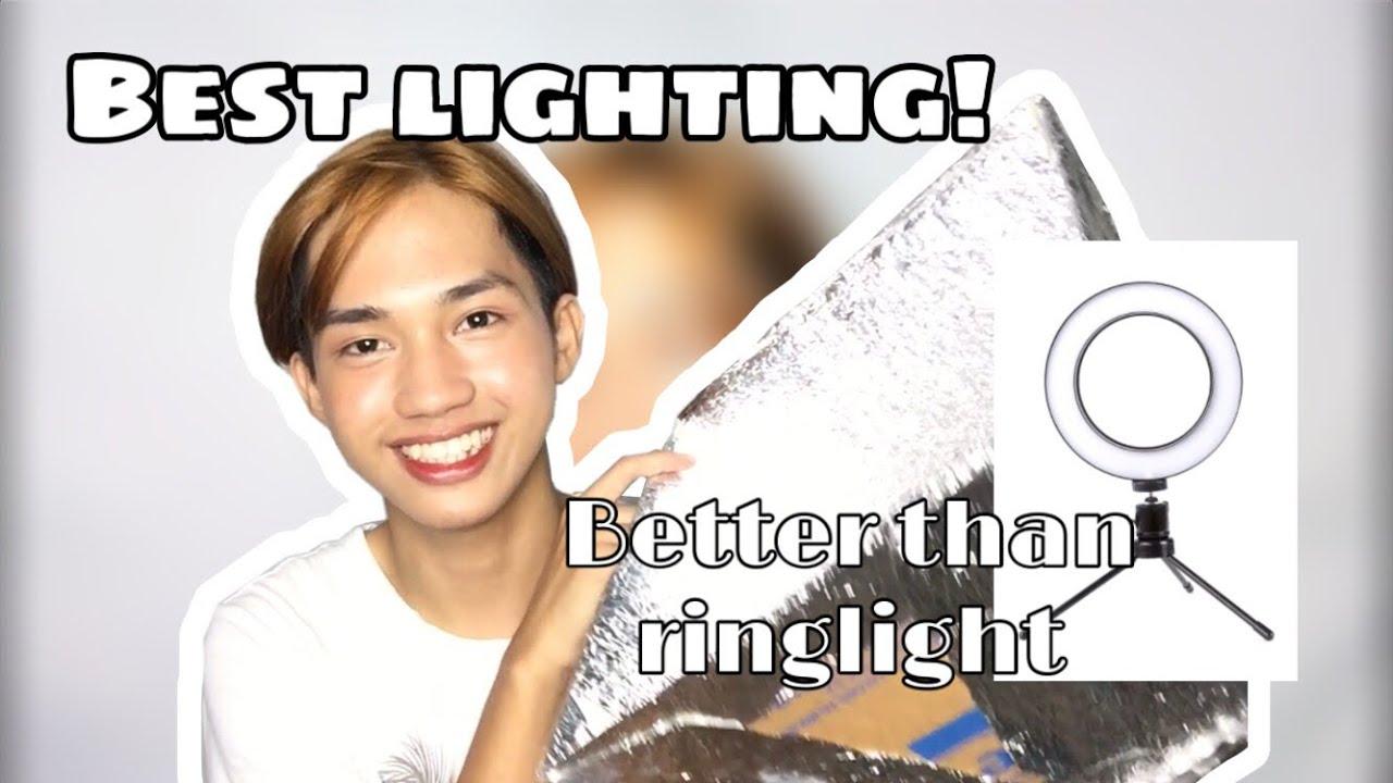 DIY Soft Box (Super Tipid and Better than Ringlight) || raque jay
