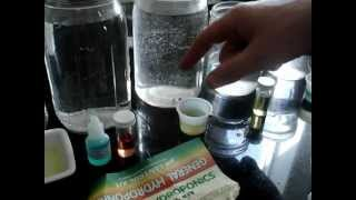 Acidity test of Purified, PT Nuke, and Tap Water