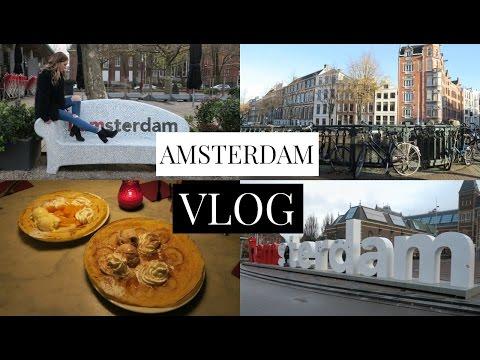 Amsterdam VLOG | Canals, Museums, & Lots of Pannekoeken!