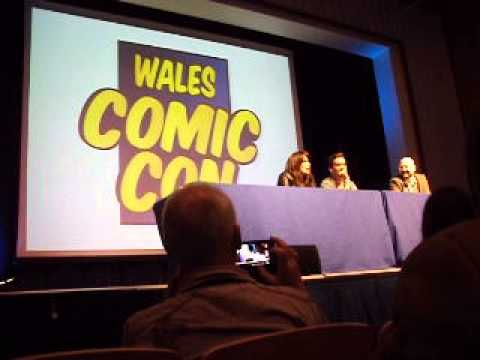 Wales ComicCon with Eve Myles and Gareth DavidLloyd