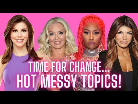 Hot Messy Topics Regarding RHOBH, Nicki Minaj, RHOC and More!  Ft. Down With Jason