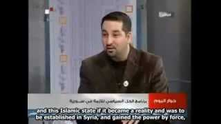 Shia chetnik tells the WEST to Support Bashar Al-Assad or Else the Muslims will Fight Israel