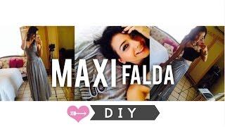 Cómo Hacer una Maxi Falda y Transformarla! :)