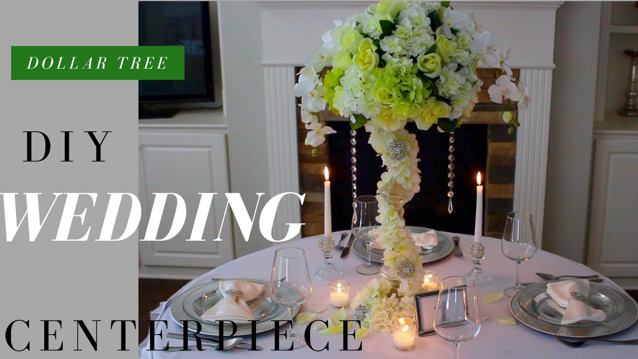 DIY Wedding Decorations | Dollar Tree Wedding Decorations feat ...