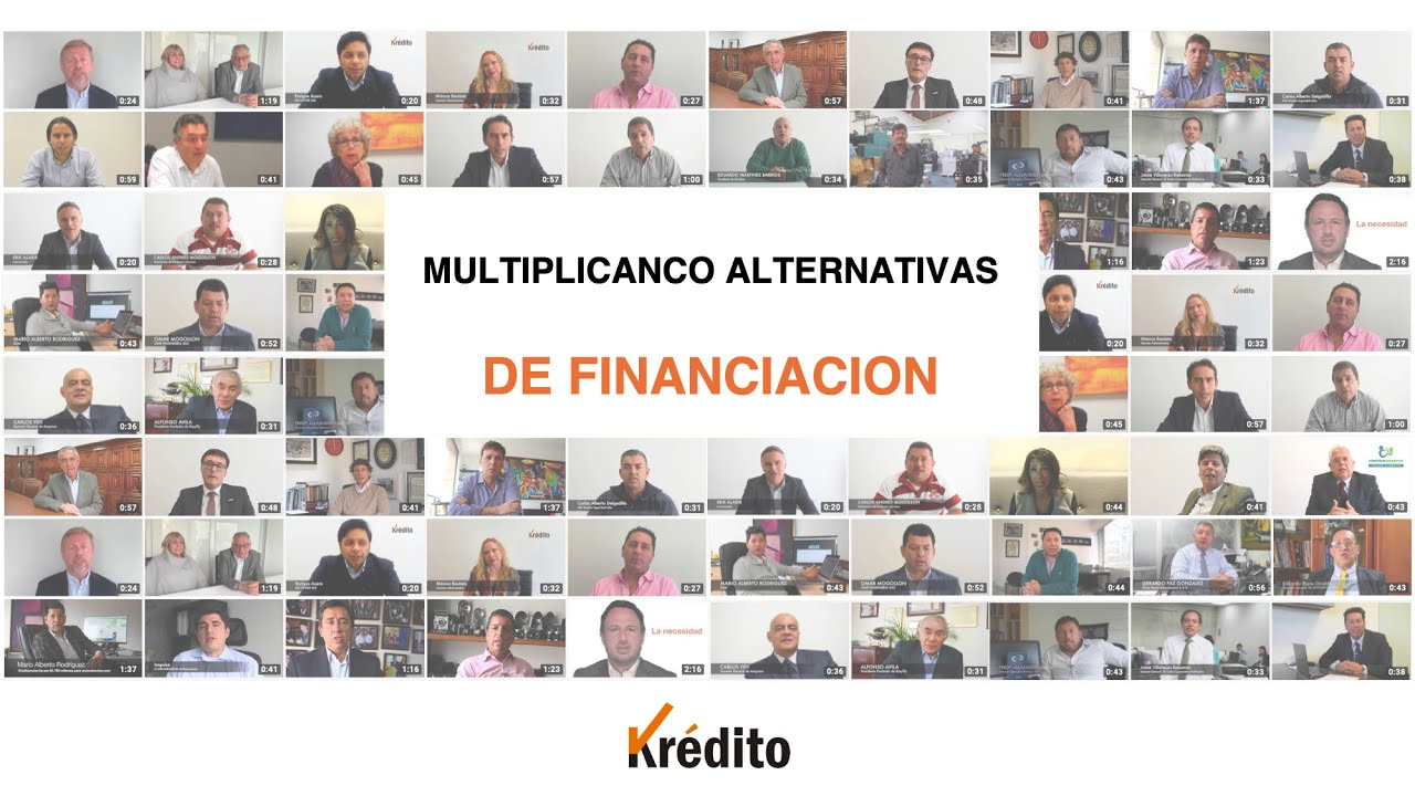 Krédito, multiplicando alternativas de financiación