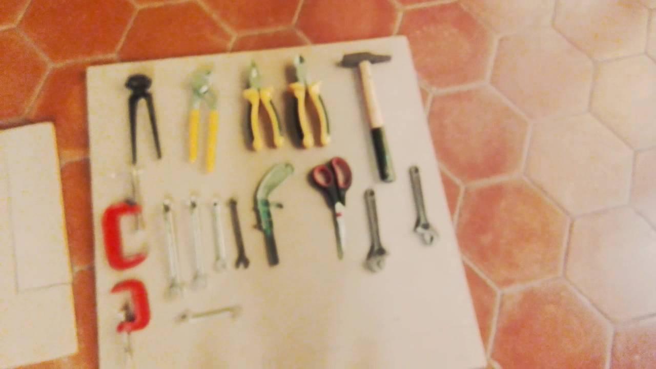 Como hacer un organizador de herramientas 1ra parte youtube - Organizador de herramientas ...
