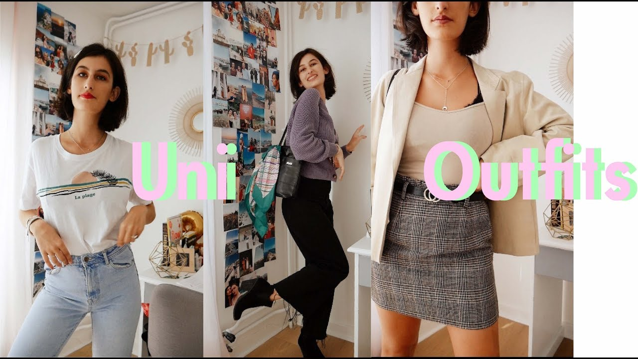 [VIDEO] - BACK TO UNI OUTFITS PARIS STYLE 4