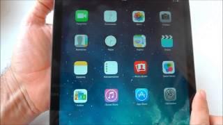 Скорости и тарифы Интертелекома - на iPad Air(Сеть CDMA EV-DO Rev.B оператора