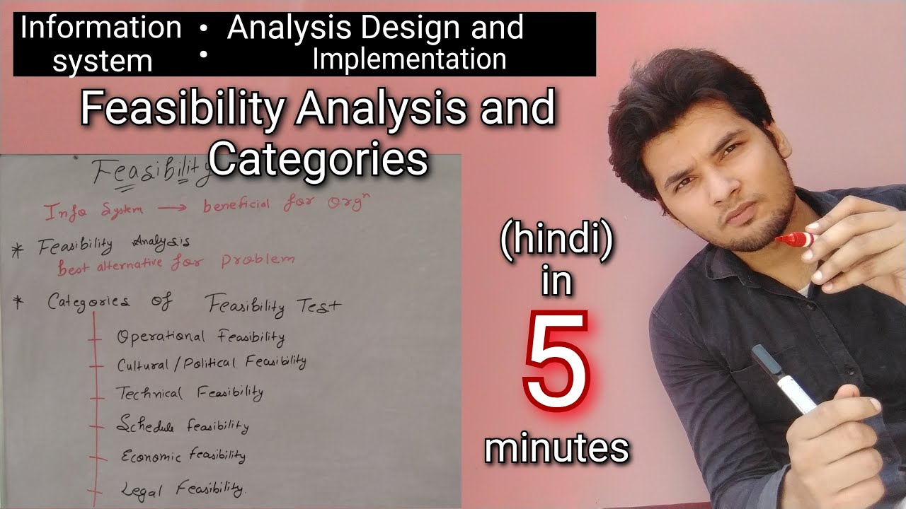 Feasibility Study In System Analysis And Design In Hindi Akant 360 Youtube