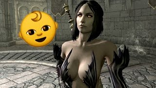 Skyrim Perma-Death | Serana my LOVE!