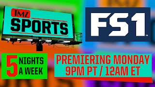 TMZ Sports Premieres On FS1 - Subscribe to TMZ Sports on YouTube! | TMZ Sports