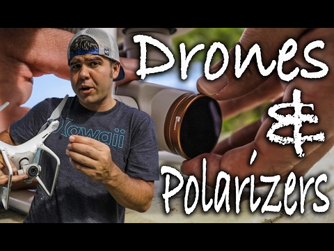 DRONES AND POLARIZERS!