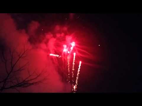 Bắn pháo hoa giao thừa 2014 tại Bắc Ninh