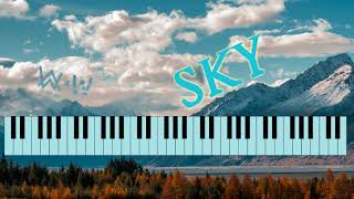 Alan Walker & Alex Skrindo - Sky - Piano Keyboard Cover by Wizario