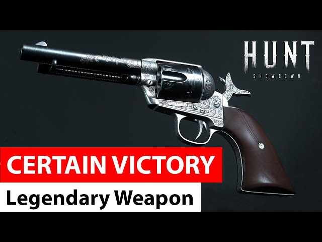 Certain Victory for Caldwell Pax | Legendary Weapons of Hunt: Showdown