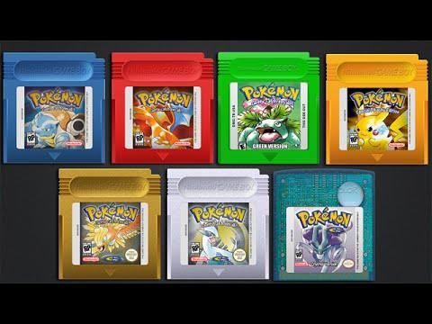 gameboy color pokemon games