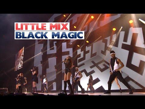 Little Mix - 'Black Magic' (Sunday Performance) (Live At The Jingle Bell Ball 2015)