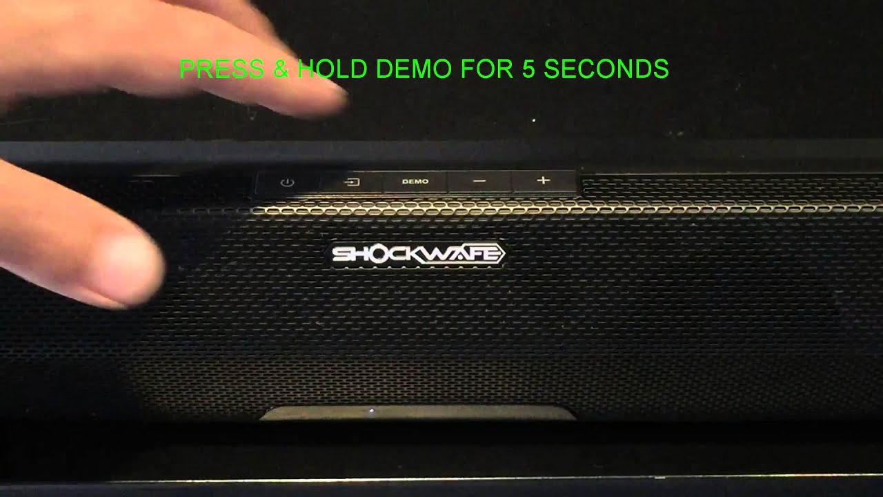 Re Linking Subwoofer With Sound Bar Youtube Speaker Diagram And Parts List For Nakamichi Audioequipmentparts Usa
