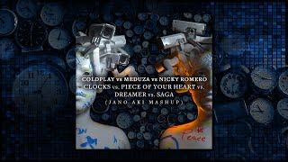 Baixar Clocks vs. Piece Of Your Heart vs. Dreamer (Jano Aki Mashup) - Coldplay vs. Meduza vs. Nicky Romero