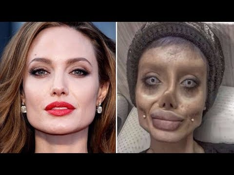 Angelina Jolie look alike is Shocking @Hodgetwins