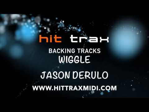 Wiggle (in the style of) Jason Derulo ft Snoop Dogg (MIDI Instrumental karaoke backing track)