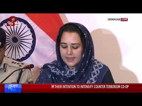 J&K administrative officers brief media about current situation of state