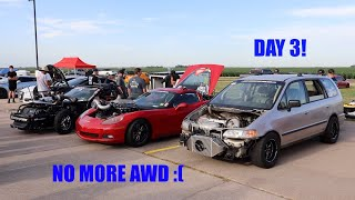 Broke The AWD on The Rowdyssey! Back To FWD! (RMRW DAY 3)
