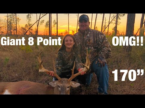 """164"""" 8 Point Buck Harvested In Florida"""