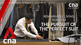The Japanese tailor with a nine-month waitlist for a bespoke suit | Remarkable Living