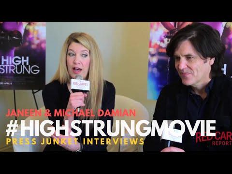 "#HighStrungMovie Creators: Janeen & Michael Damian talking about their movie ""High Strung"""