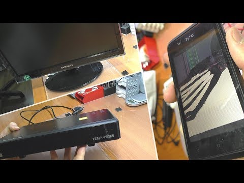 3 ПРОСТЫХ РЕМОНТА: Монитор Samsung P2050, смартфон HTC 210 и приставка Телекарта HD CHD-04CX