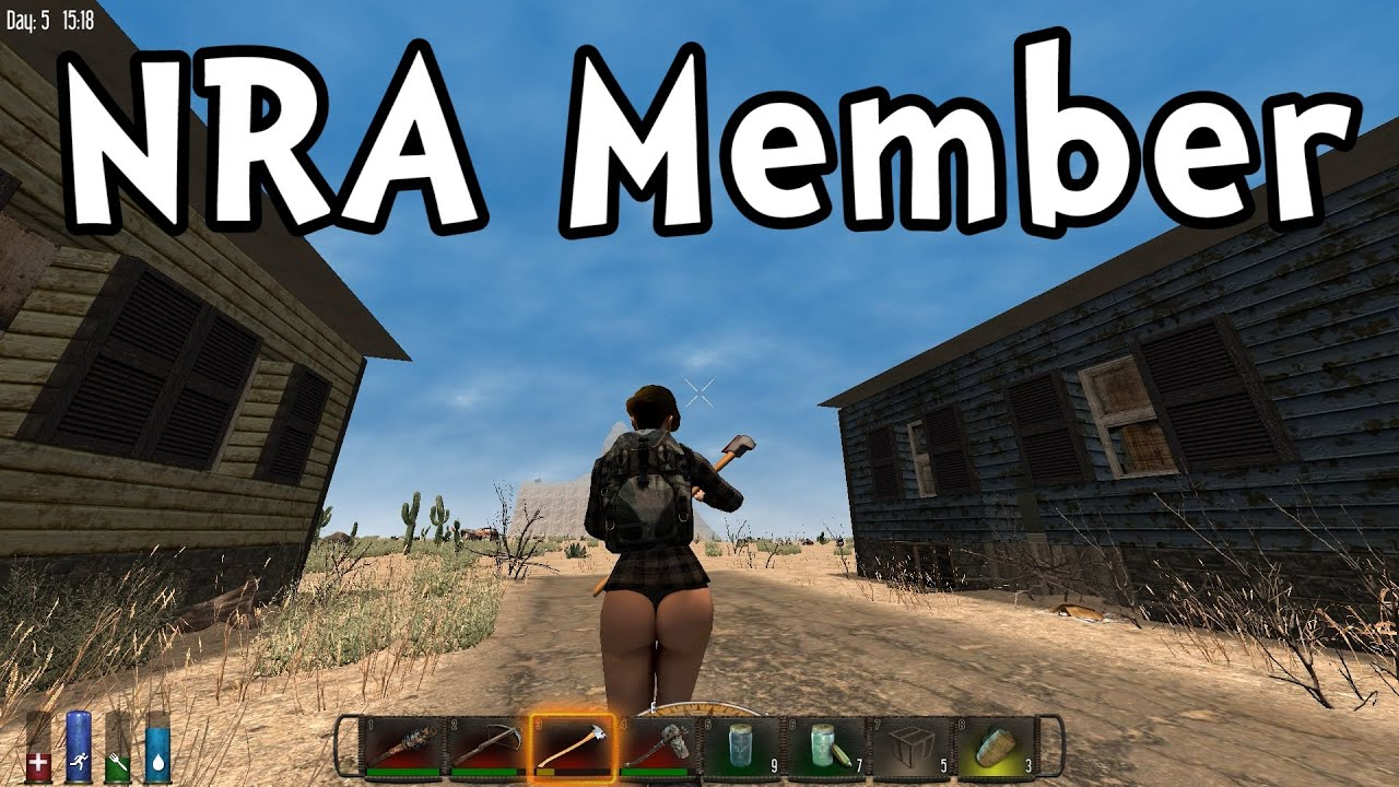 7 Days To Die S3E05 Proud NRA Member Gameplay Playthrough 1080p 60fps YouTube