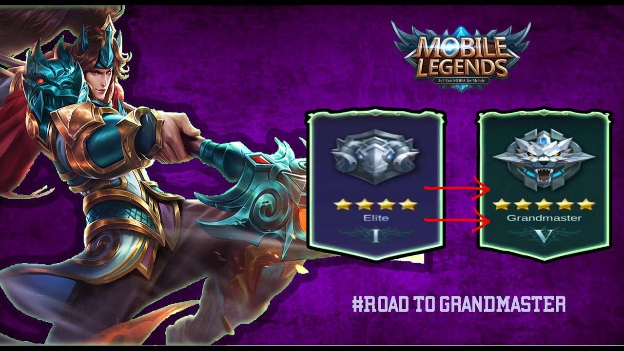mobile legend road to grandmaster youtube. Black Bedroom Furniture Sets. Home Design Ideas