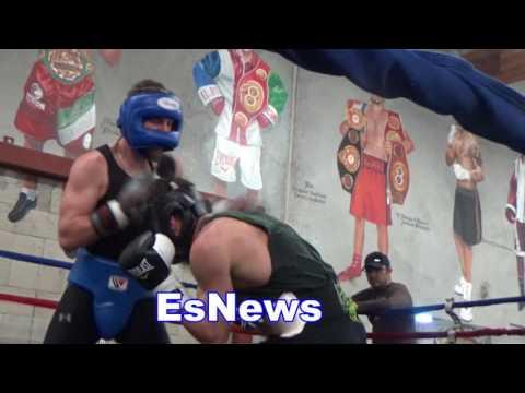 High Level Sparring In Oxnard California EsNews Boxing
