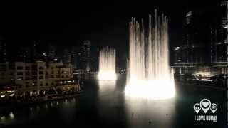 Dubai Fountain — I Will Always Love You (STUNNING)