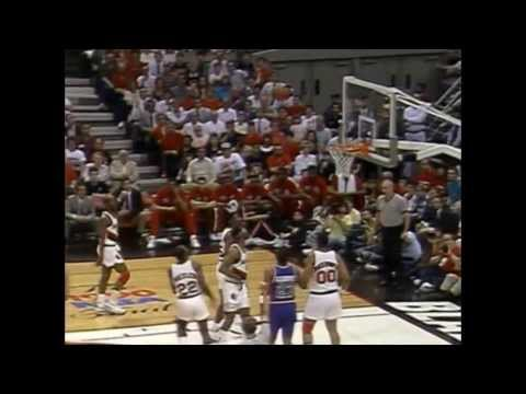 1990 NBA Finals - Detroit vs Portland - Game 5 Best Plays