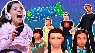The Sims 4 - A Casa Dos Youtubers - Fazendo Personagens - Ep. 01(Genteeeee... Olha o vídeo novo aí!!! E hoje vou começar uma série nova aqui no canal... The Sims 4 - A Casa Dos Youtubers com Duda Guedes, Manoela ..., 2016-04-27T21:00:02.000Z)