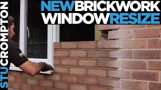 Reducing window Size, bricklaying