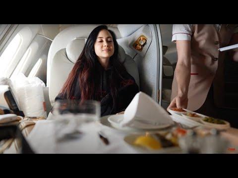 I TOOK THE EMIRATES A380 $20K FIRST CLASS FLIGHT NYC TO DUBAI (dubai vlog series #2)