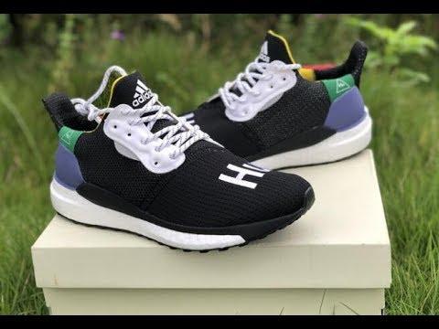 3dc9c4b4e79af Adidas x Pharrell Williams NMD Solar Hu Glide St Black HD  review yeezykickss.net