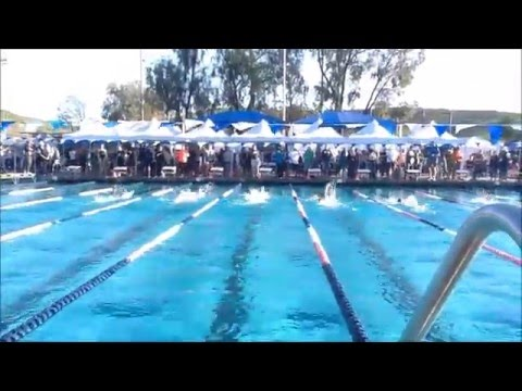 2016 San Diego-Imperial Swimming Short Course Junior Olympics; February 21-22; Poway, CA
