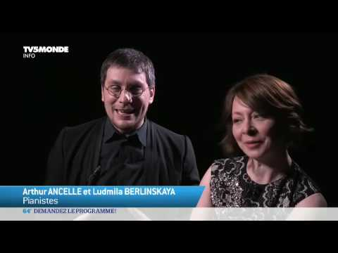 Musique: Arthur Ancelle et Ludmila Berlinskaya, un amour de duo