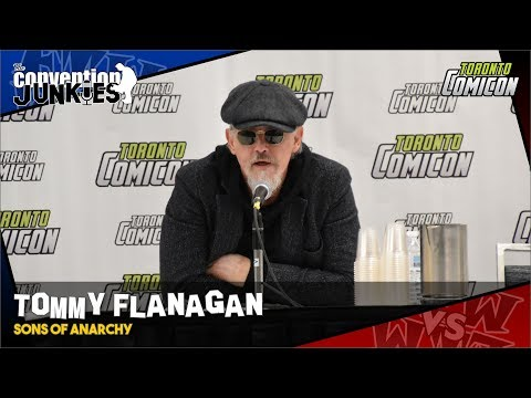 Tommy Flanagan (Sons of Anarchy) Toronto ComiCon 2019 Panel