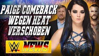 Paige mit Backstage Heat, Bryan wird wieder wrestlen, CM Punk Deal mit Young Bucks| WWE NEWS 82/2017