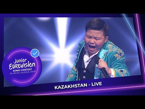 Kazakhstan 🇰🇿 - Yerzhan Maxim - Armanyńnan Qalma - LIVE - Junior Eurovision 2019