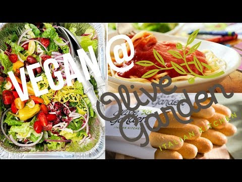 Vegan at Olive Garden